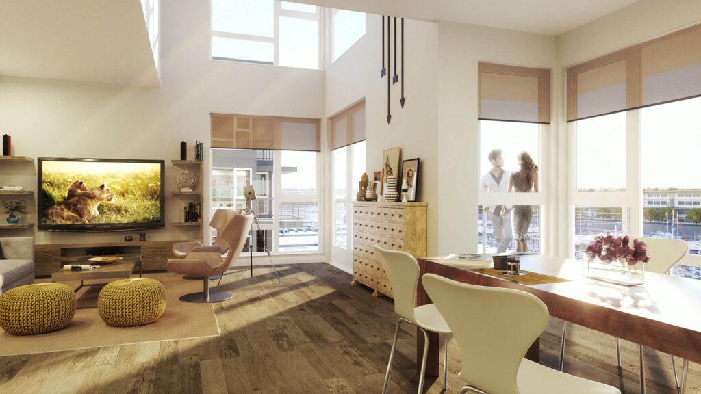 3D interior renderings house kipcreating