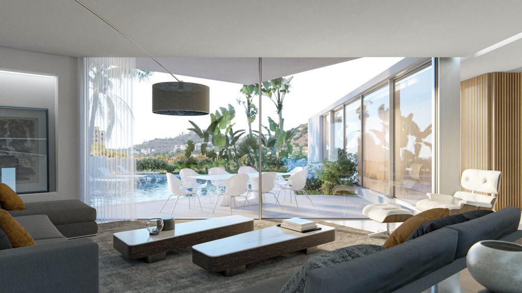 3D interior renderings living room kipcreating