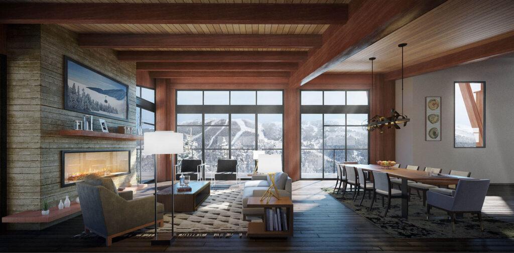 rendering living room kipcreating