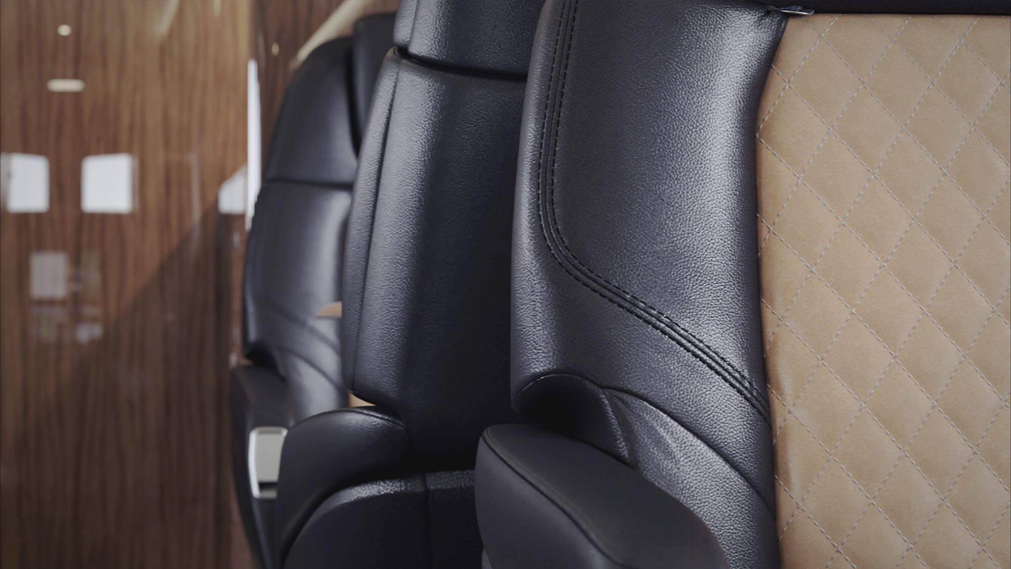 Preator 600 - close up-seat