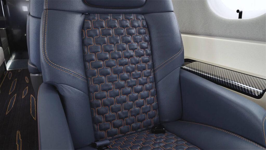 praetor 600 seats interior rendering